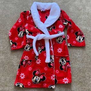 🔅3FOR$15🔅 Kids Minnie Mouse Robe